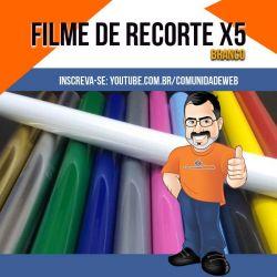 Filme de Recorte Branco X5