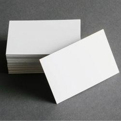 Cartão de Visita Branco Sublimável 100 Unids