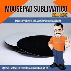 MousePad para Sublimação Redondo