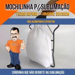 Mochilinha para Sublimar 20x30cm