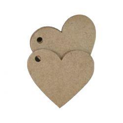 Tag Kraft Coração