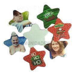 Estrela de Papel Cartão Sublimável para Estrela de Acrílico 100 unidades